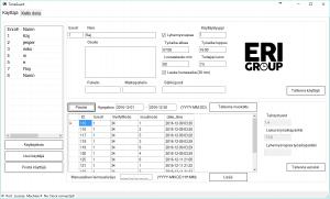 ERI AIKA työajanseuranta ohjelmisto screen1