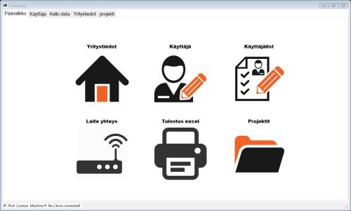 2. Työajanseuranta, työaikakirjanpito ohjelmistot