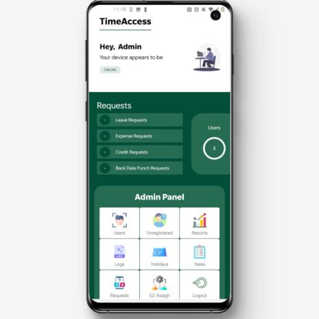 Kellokorttisovellus Time Access ei kuukausikuluja
